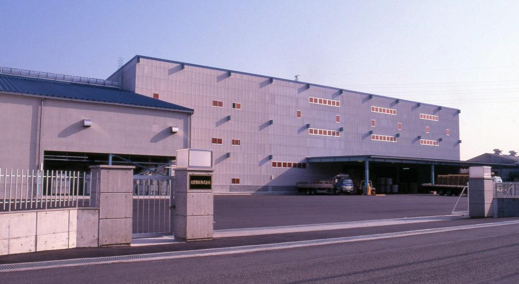 大宮製紙家庭紙製造設備工事 加工棟