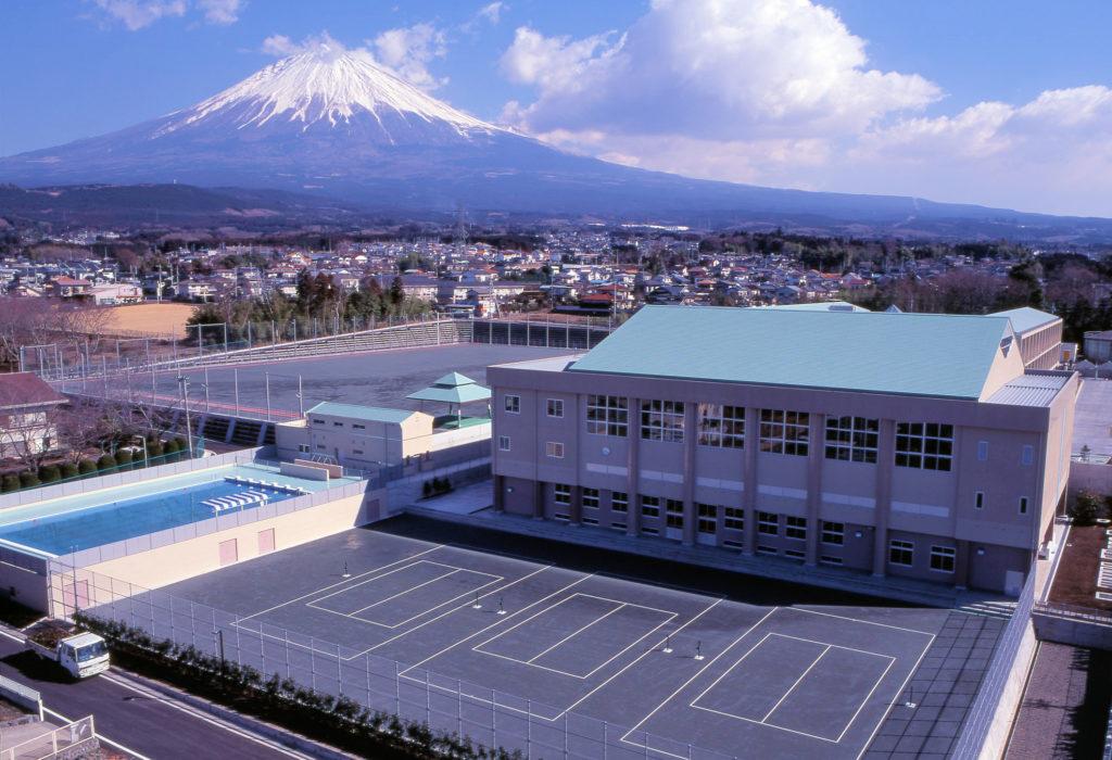 平成5・6年度大富士中学校建設工事(JV)テニスコート・体育館