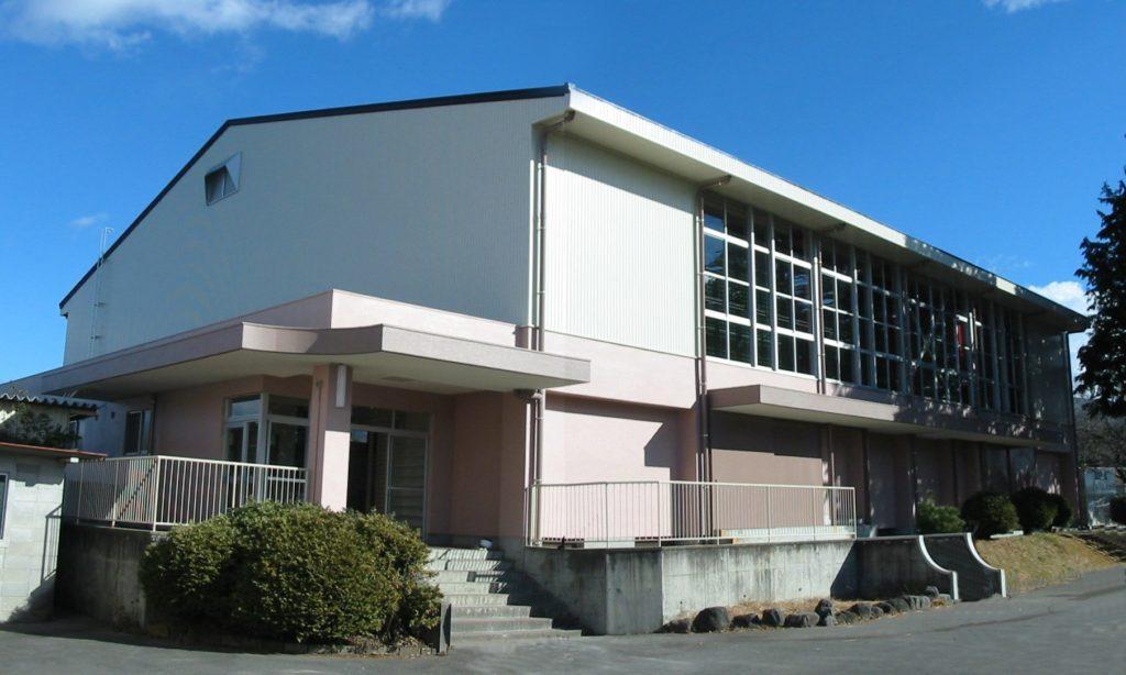 平成17年度富士宮市立上井出小学校屋内運動場耐震補強工事