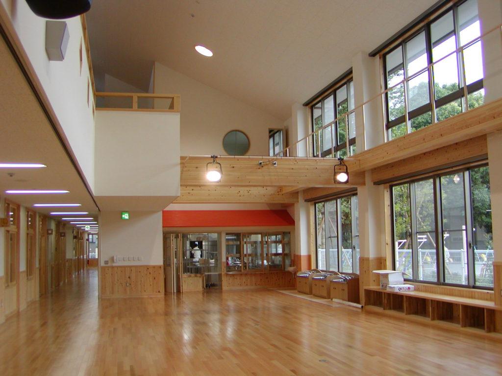 平成18・19年度富士宮市立大宮保育園改築工事 内部