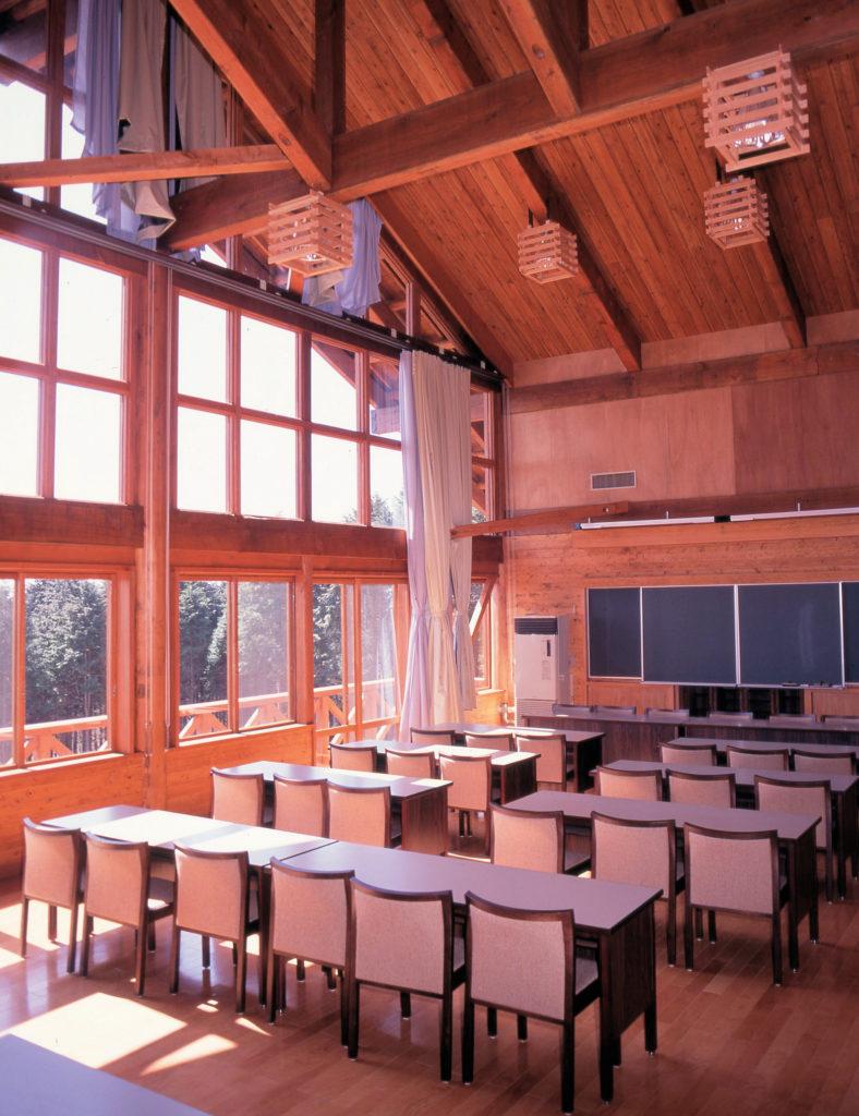 富士山麓山の村管理棟建築工事 管理棟 内部