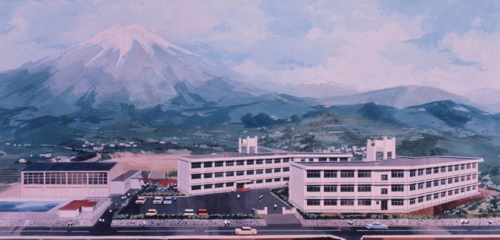 富士宮市立富士根南中学校建設工事