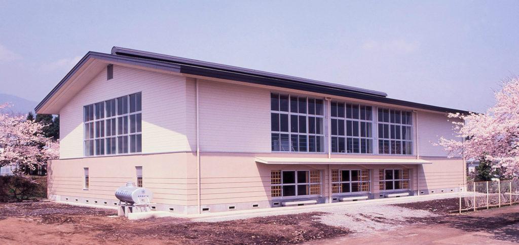 平成元年度高等農業学園体育館建築工事