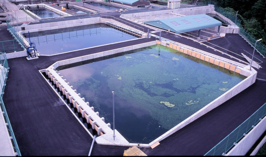 平成8年度冨士養鱒場排水処理施設建設工事