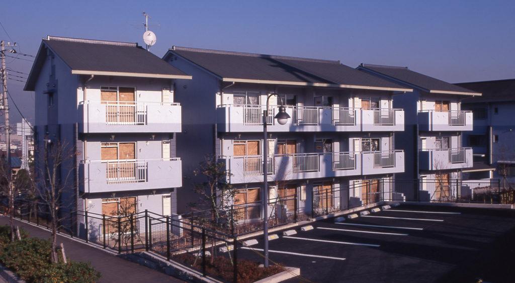 平成9・10年度富士宮市営白尾住宅建設工事(建築工事)A棟工区