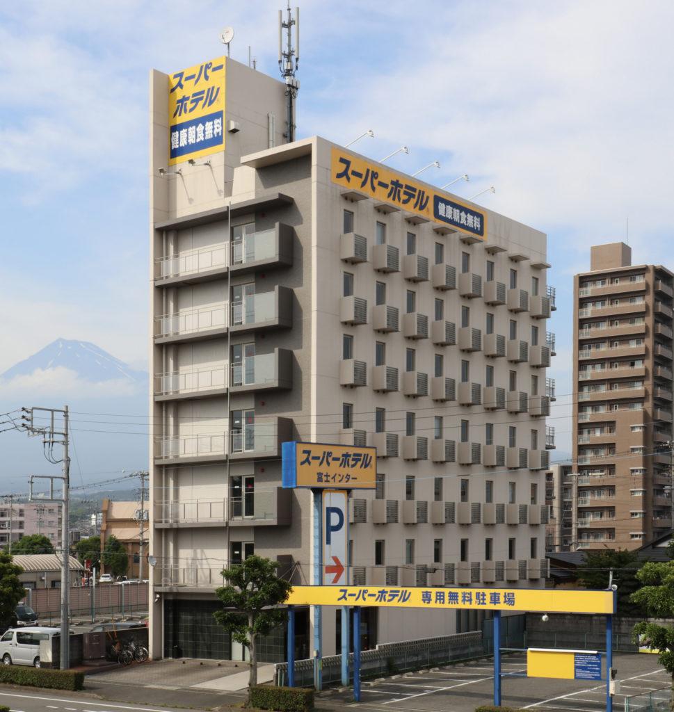 スーパーホテル新富士新築工事