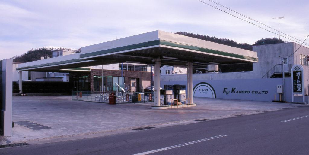 富士勧業(株)オートスタンド沼津SS新築工事