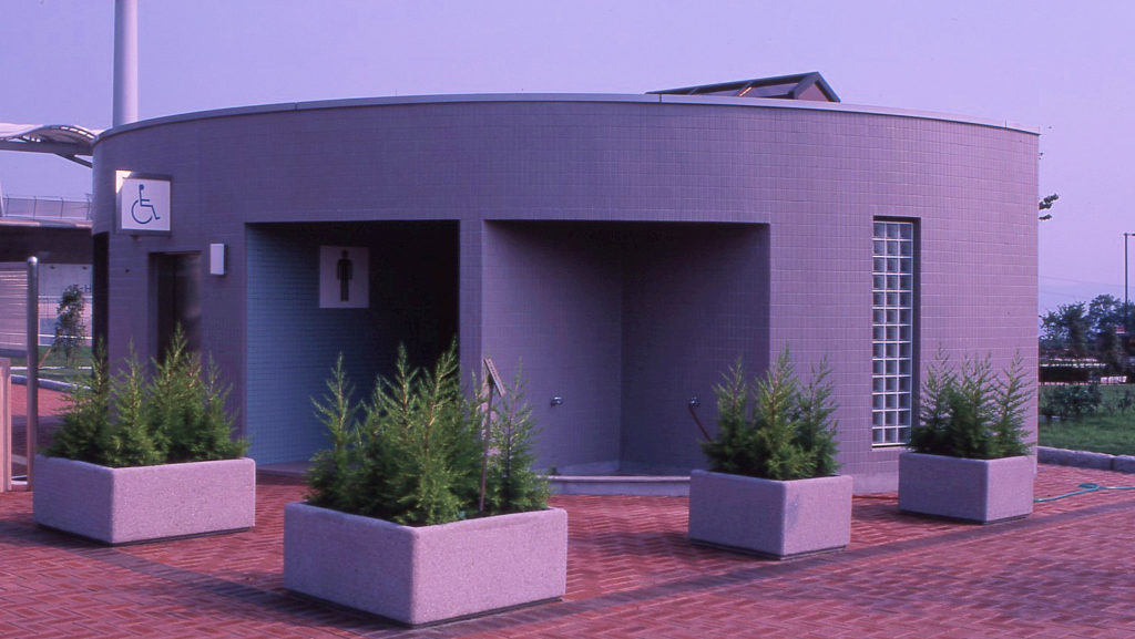 平成9年度(仮称)山宮多目的広場屋外トイレ建築工事