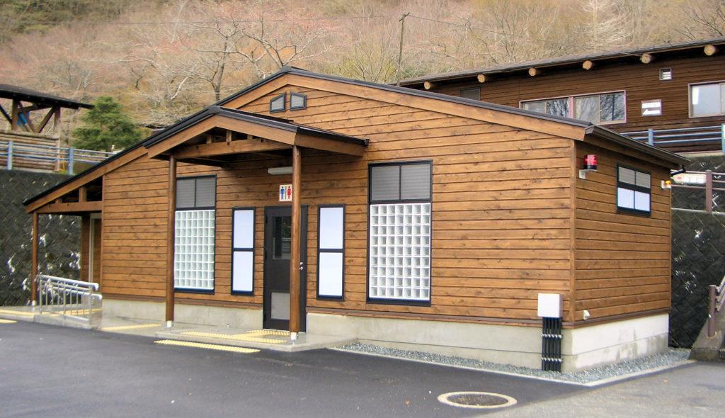 平成19年度観光施設整備事業田貫湖キャンプ場公衆トイレ建築工事