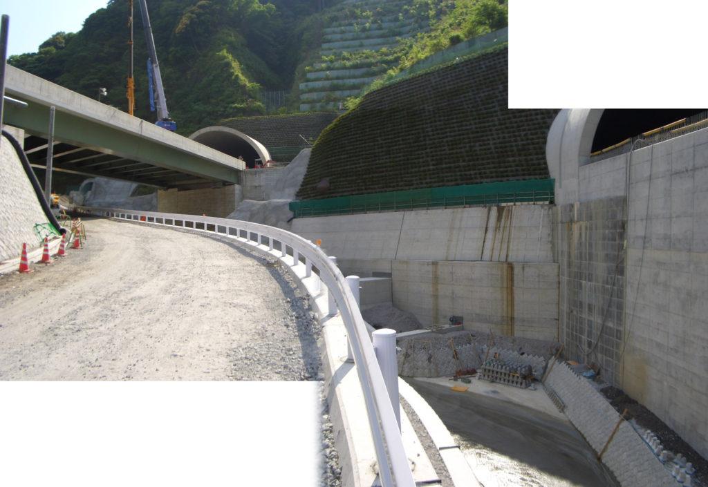 第二東名富士川TN東町道由比線血流川改修