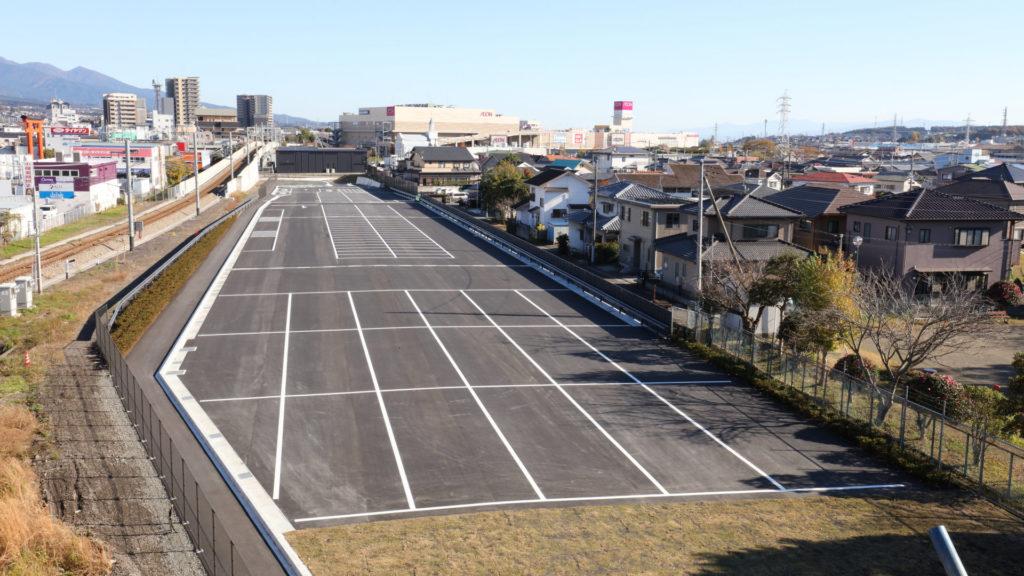 平成26年度せせらぎ広場周辺駐車場整備工事
